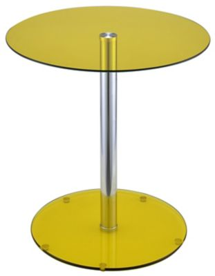 Halley End Table, Yellow, swatch