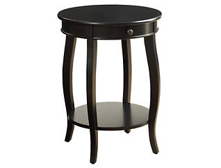 Alysa End Table, Black, , large