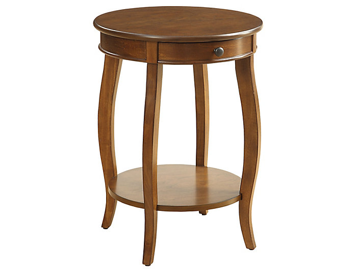 Alysa End Table, Walnut, , large