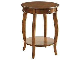 Alysa End Table, Walnut, , large