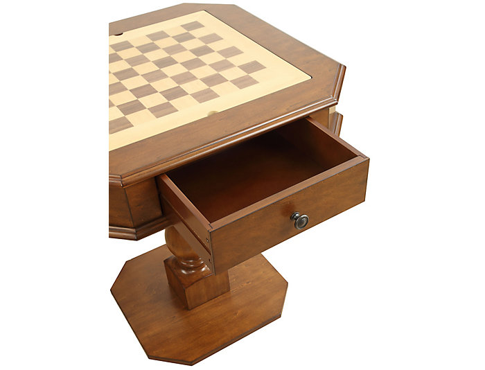 Bishop Game Table, Cherry, , large