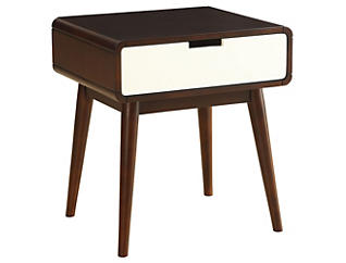 Christa End Table, Walnut, , large