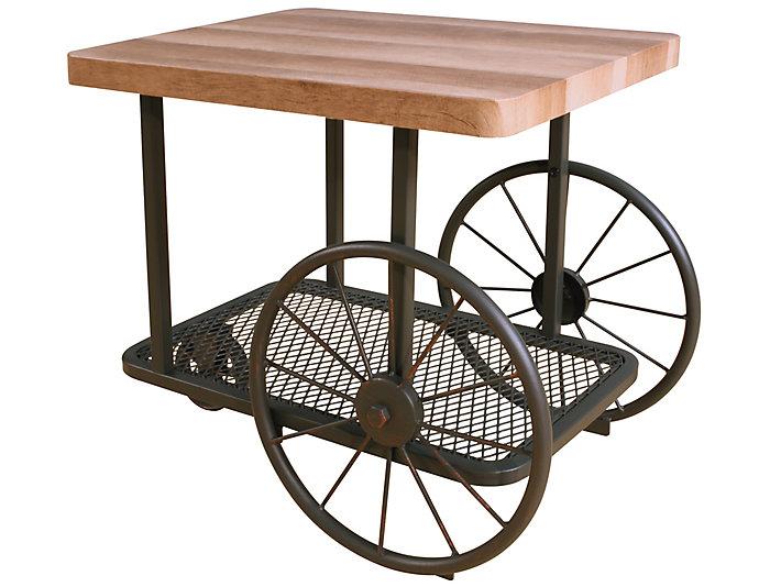 Francie End Table, Oak, , large