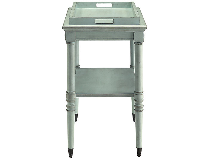 Frisco Green Tray Table, , large