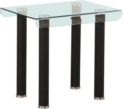 Perla End Table, Black, swatch