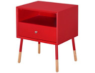 shop Sonria-II-Red-End-Table