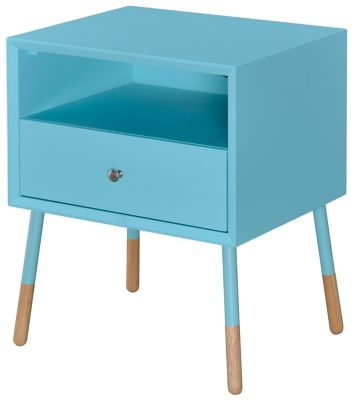 Sonria II Light Blue End Table