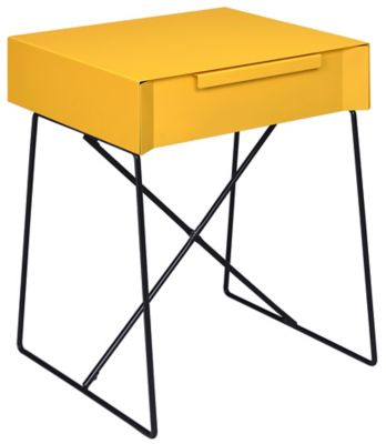 Gualacao End Table, Yellow, swatch