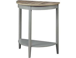 Avia Oak Sofa Table, Grey, , large