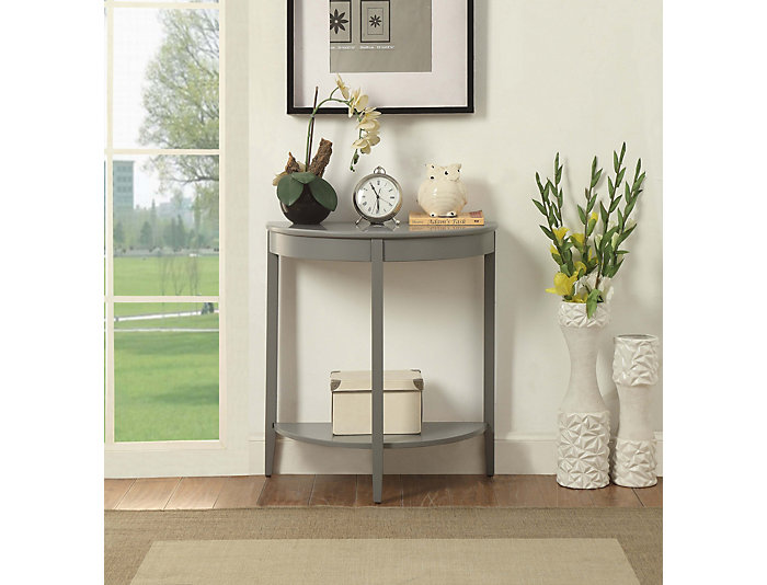 Avia Sofa Table, Grey, , large