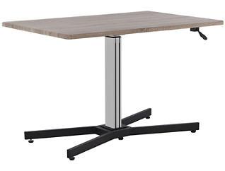 Inscho Grey Adjustable Height Desk, , large