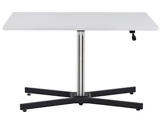 Inscho White Adj. Height Desk, , large