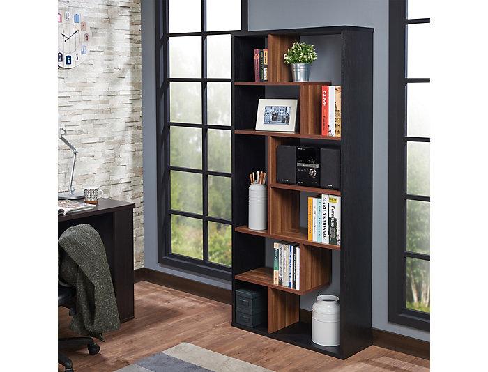 Chas Cube Black Bookcase, , large