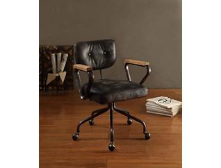 Hallie Black Office Chair, , large