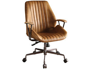 Hamilton Coffee Office Chair, , large