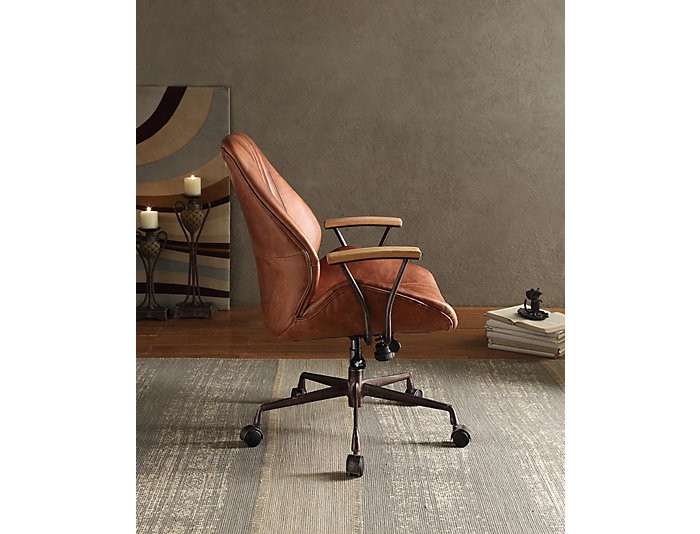 Hamilton Cocoa Office Chair, , large