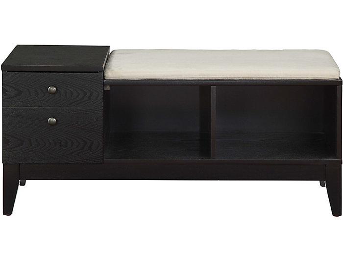 Barbara Storage Bench, , large