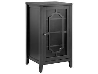 Fina Black Accent Cabinet, , large