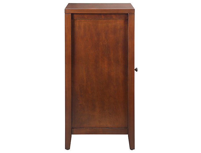Fina Walnut Accent Cabinet, , large