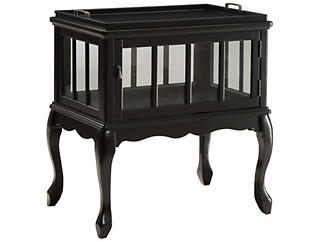 Fidelia Console Table, Black, , large