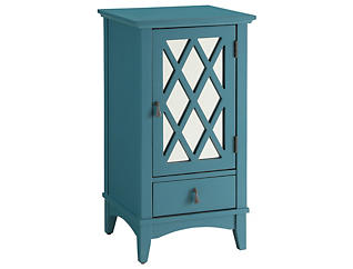 Ceara Teal Floor Cabinet, , large