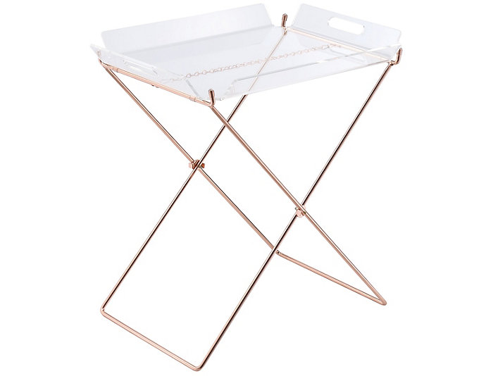 Cercie Clear Tray Table, , large