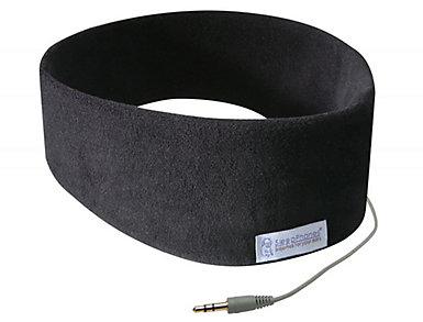 AcousticSheep Classic Black Large SleepPhones, , large