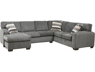 Fenella Smoke 2 Piece Left-Arm Facing Sectional, , large