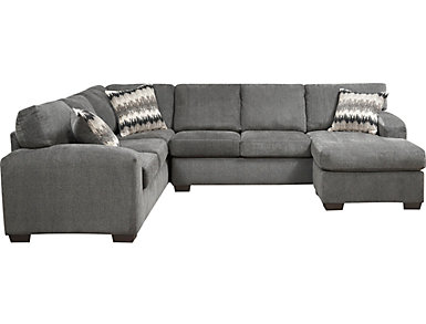 Fenella 2 Piece Right-Arm Facing Sectional, Smoke, , large
