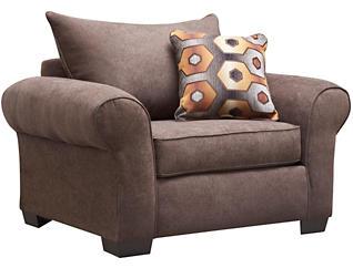 Felix Chair, Chocolate, large