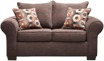 Felix Loveseat, Chocolate, Brown, swatch