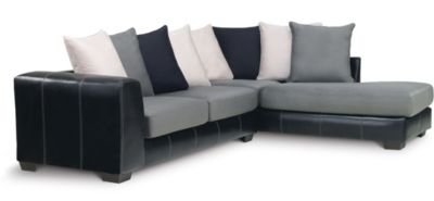 Idol 2 Piece Right-Arm Facing Sectional, Steel, swatch