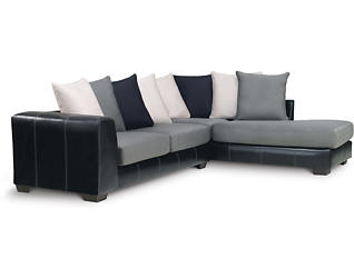 Idol 2 Piece Right-Arm Facing Sectional, Steel, large