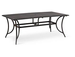 """Manhattan 38"""" x 72"""" Rectangular Table, Brown, , large"""