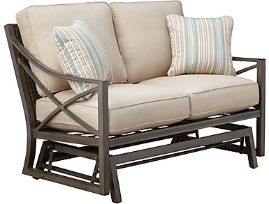 Davenport Sand Loveseat, , large