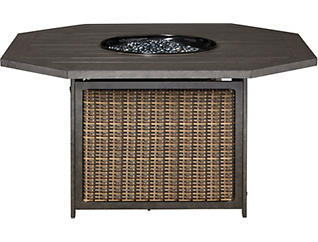 Grayson Firepit, Black, , large
