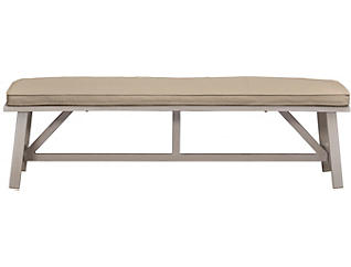 Lakehouse Bench, Beige, , large