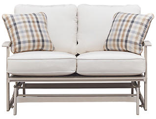 Lakehouse Loveseat Glider, , large