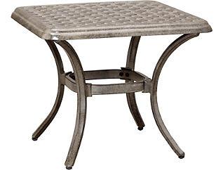 Madison End Table, Black, , large