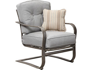 Madison Spring Chair, Black, , large