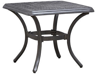 Melbourne End Table, Black, , large
