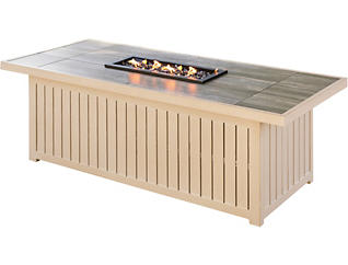 Lakehouse Rectangular Firepit, , large