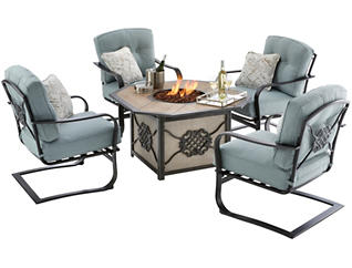 Melbourne 5pc Firepit Set, , large