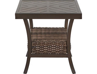 Trenton Square End Table, Metal, , large