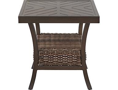 Trenton Square End Table, Metal, , large