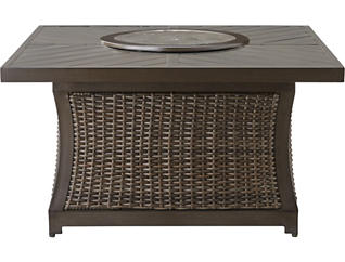 Trenton Square Firepit, Metal, , large