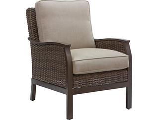 Trenton Lounge Chair, Beige, , large