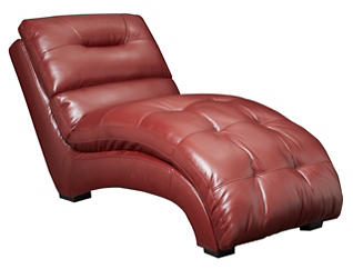 Venus II Chaise, Red, , large