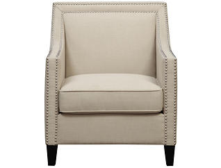 Lea Natural Accent Chair, Natural, large