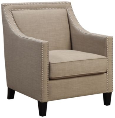 Lea Accent Chair, Natural, Pewter, swatch